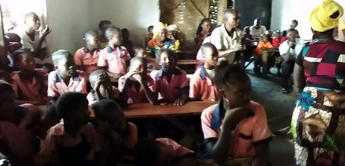 A cross-section of the kids at the program