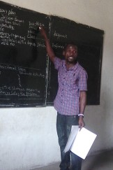 One of the lecturers teaching on Lesson Planning
